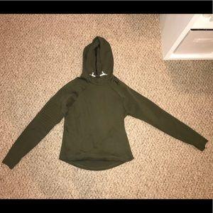 Army Green Puma Sweatshirt